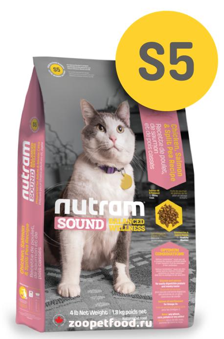 NUTRAM Sound Cat Adult / Senior сухой для взрослых и пожилых кошек
