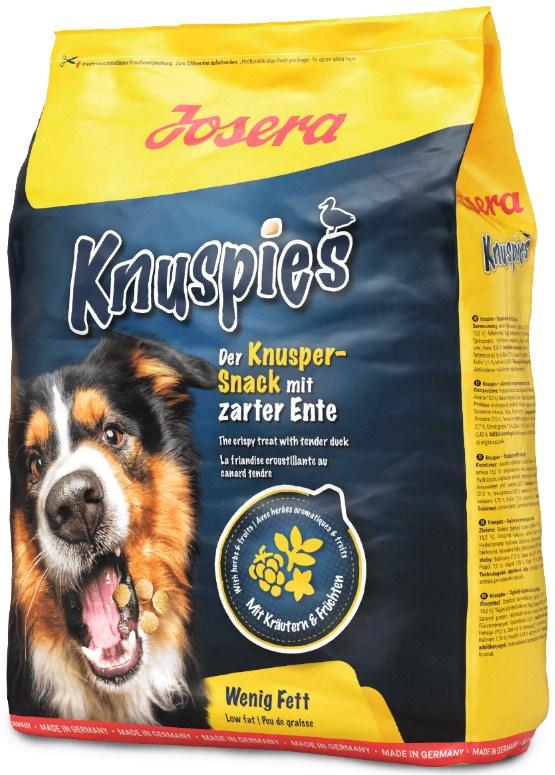 JOSERA Knuspies Snack Ente хрустящее лакомство для собак УТКА